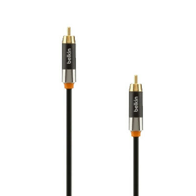 New Belkin Advanced Series Digital Coaxial Cable 2M AV10043QE2M [Audio Cable]