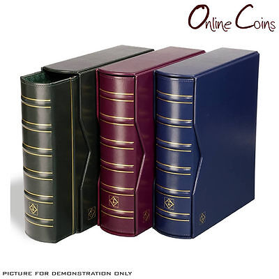 Lighthouse Classic Vario Gigant Album & Slipcase RED For Banknotes and Stamps