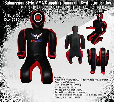 Best leather made mma bjj fighting training bag