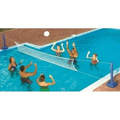 Swimline 9186SL Jammin' Inground Cross Pool Volleyball Game 9186