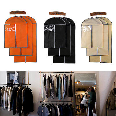 Suit Cover Coat Clothes Garment Bag Dustproof Storage Hanger Protector Travel HG