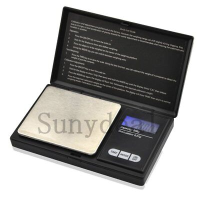 100g 0.01g Digital Jewelers Scale Diamond Gold Coin Calibration Weight