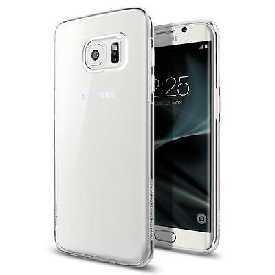 iProtect Samsung Galaxy S7 Edge Clear Crystal Hard Case transparent