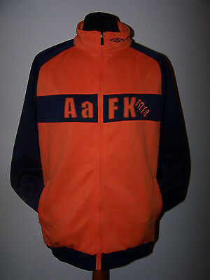 Aalesunds FK Norway Official Umbro Home Long Sleeves Jacket (XL for Adults)