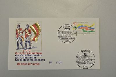 Bund 1986 FDC Mi 1283 Cartellverband