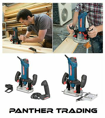 """Silverline Silverstorm 600W 1/4"""" Multipurpose Plunge Router & Hobby Tool 270289"""