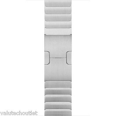 Genuine Apple 42mm Silver metal stainless steel  Link Bracelet for Apple Watch