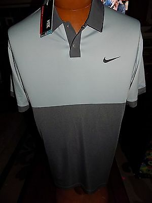 NWT Men's NIKE GOLF TIGER WOODS TW Velocity Jacquard Polo MEDIUM 685848 $110