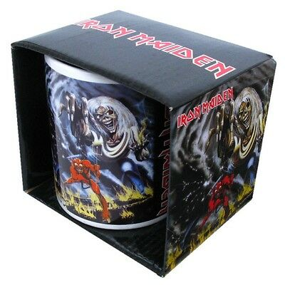 IRON MAIDEN BOXED MUG Number of the Beast