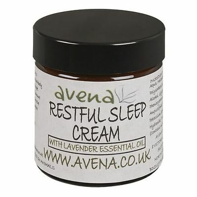 Restful Sleep Cream Insomnia Natural Essential Oil To Soothe Calm & Relax