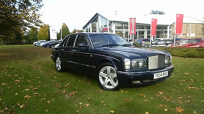 Bentley Arnage 6.8 auto Red Label, Royal Blue, FSH, only 62500 miles