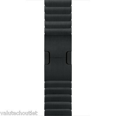 Genuine Original Apple Watch 38mm Space Black Steel alloy Link Bracelet