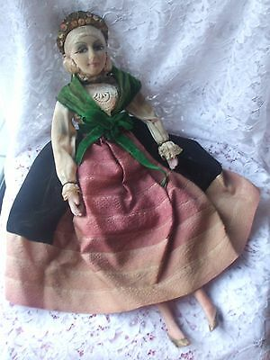 Poupée de salon 1925 antique french boudoir doll