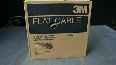 3M VM-1 New Flat Cable 100ft