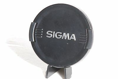 Sigma Genuine Black / Silver 72mm Snap On Front Camera Lens Cap