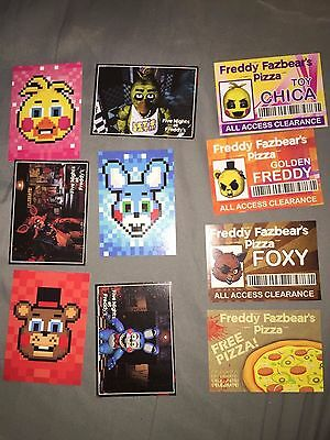 Five Nights at Freddy's Trading Cards Lot #10 NEW
