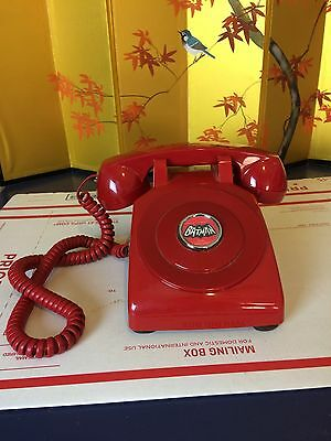 Vintage Style Red Phone BAT PHONE Inspired by Batman TV Show
