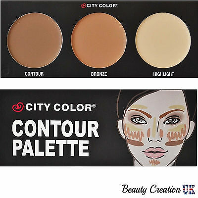 CITY COLOR Contour Kit Set Palette Bronzer Highlighter CL004