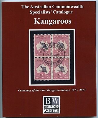 2013 Brusden White Current Edition Kangaroo Specialised Catalogue New.