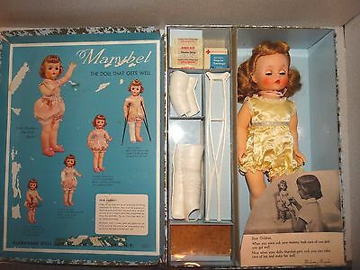 Madame Alexander VINTAGE 1959 MARYBEL GET WELL Doll w/BOX!