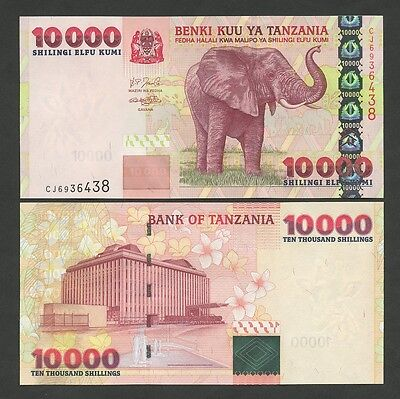 TANZANIA - 10,000 sh  2003  P39  Uncirculated  ( World Paper Money )