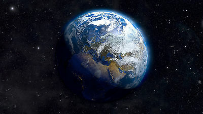 """Poster 24"""" x 16"""" Earth From Space"""