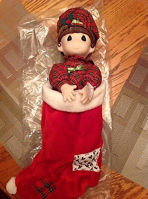 Precious Moments Doll Collection QVC 1996 stocking doll