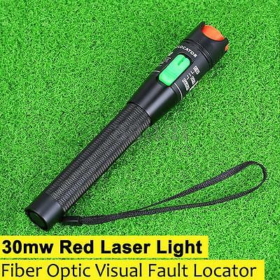 30Mw 30Km Visual Fault Locator Fiber Optic Laser Cable Tester Test Equipment