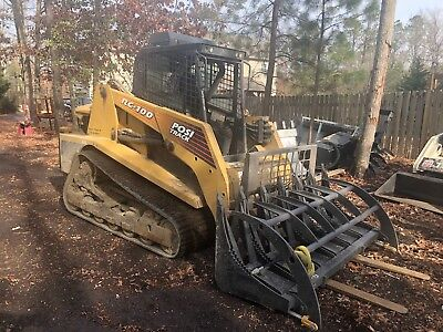 ASV RC-100 PT-100 skidsteer  - 100hp -  EROPS HEAT/AC Model HI FLOW- MAKE OFFER