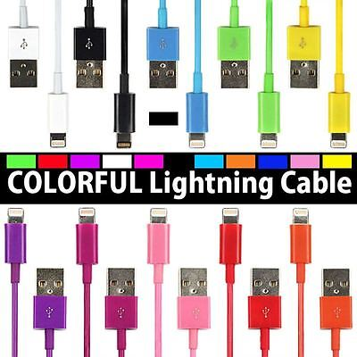 USB Lightning Charging & Data Sync Cable for Apple iPhone 5 5c 5s 6 6s 7 Plus