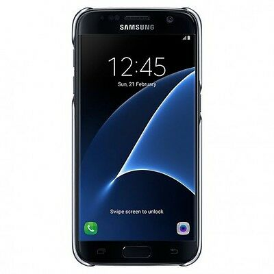 "Samsung Clear Cover 5.1"" Protectora Negro"