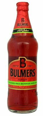 Bulmers Crushed Red Berries Cider Flasche