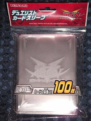 Limited YuGiOh! ARC-V OCG SILVER Duelist Card Sleeve Protector 100pcs JAPAN F/S