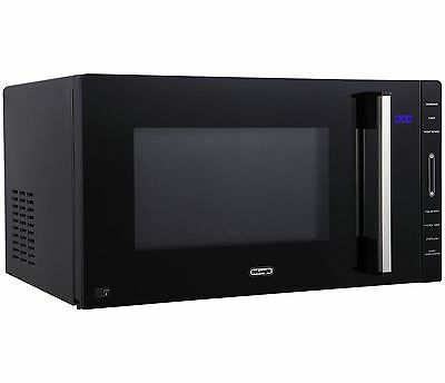 DeLonghi TM823 23L Flatbed Solo Microwave 800W - Black :The Official Argos Store