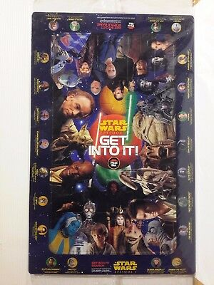 2 JIGSAW PUZZLES STAR WARS EPISODE I from PIZZA HUT NEW IN PACK