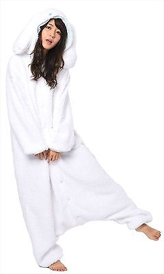 Sazac Sanrio Cinnamoroll Fleece Kigurumi Cosplay Costume Party Pajamas