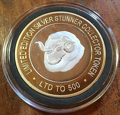 # Australian Ram SILVER STUNNER COIN LIMITED Edition Silver & Gold Coin New