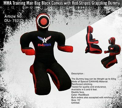 Grappling Wrestling Fighting Training Dummy | Canvas Made Submission Style