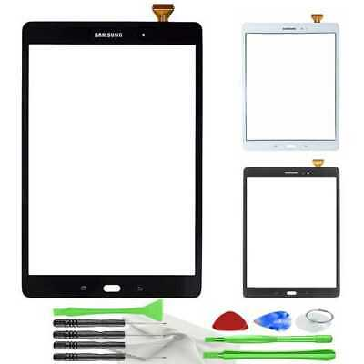 Touch Screen Digitizer Glass+Adhesive Samsung Galaxy Tab A 9.7 SM-T550 +Tools