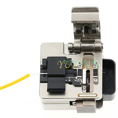 Metal Fiber Optic Fiber Cleaver FTTH Cutting Tool Cutter 0755 Ship 24H Free Ship