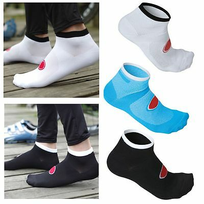 Mountain Bike Cycling Racing Running Anklets Coolmax Material Sport Socks
