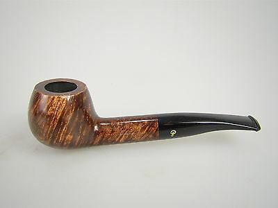 Peterson of Dublin Pfeife Aran Braun Glatt 408 9mm Filter #1404