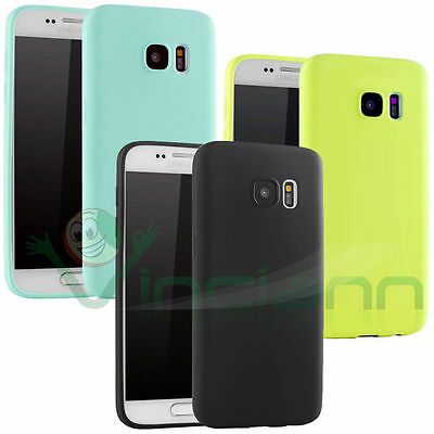 Custodia TPU cover Ultra Thin Candy per Samsung Galaxy S7 G930F case sottile