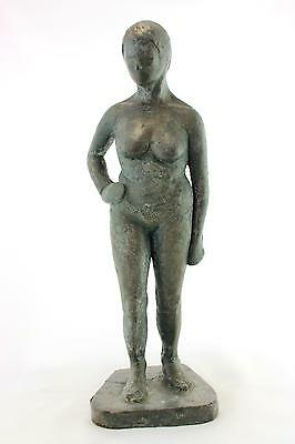A vintage freestanding sculpture of a nude women. 1950's 60's