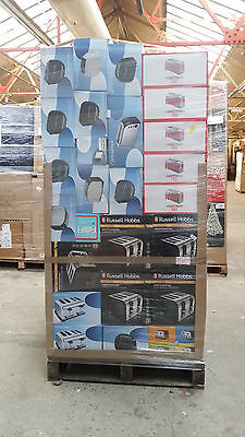 Wholesale Job Lot Clearance TOASTERS RETURNS PALLET 8154818
