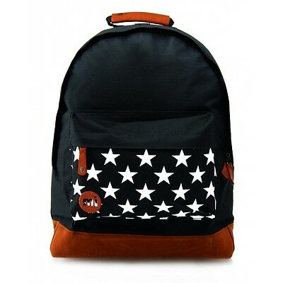 MI-PAC Backpack Stars Pocket Black School Bag 740201-001 **FREE HARIBO