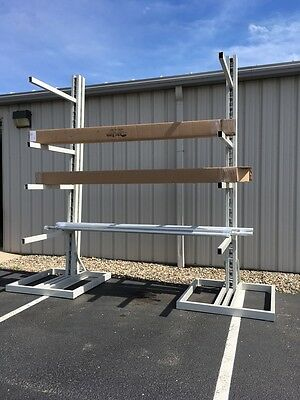 Cantilever Storage Rack, Ideal Sales 10', 12', 15' free standing, warehouse rack