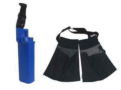 WINDOW CLEANING Equipment  -  Hip Bucket on Belt & Double Pocket Pouch