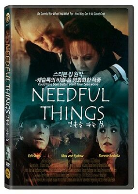 Needful Things (1993) - Max von Sydow, Ed Harris DVD *NEW
