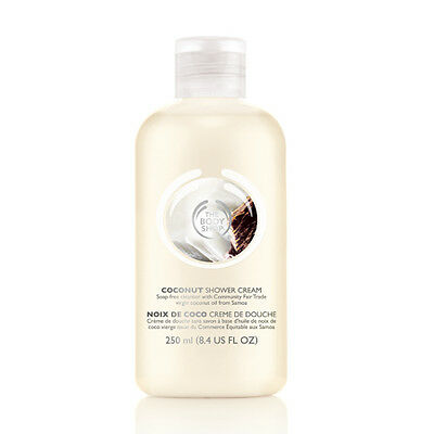 New The Body Shop Coconut Shower Cream